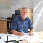 Der Geschäftsführer Reinhard Frischke.